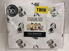 Berkshire Peanuts Snoopy Mummy Skeleton Halloween Themed Twin Size Sheet Set