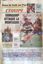L'Equipe Journal 1/12/1995; Guingamp-PSg/ Alphand/ Herrero/ Handball à Minsk