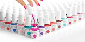 Harmony Gelish Soak Off GEL Color Nail UV LED Colour Polish System Top Base Coat
