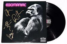KONGOS BAND SIGNED EGOMANIAC VINYL 2x LP RECORD ALBUM LUNATIC AUTOGRAPHED +COA
