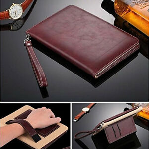 "Premium Leather Smart Book Case Magnetic Cover APPLE iPad 9.7"" Air Pro 10.2 10.5"