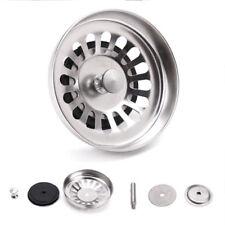 Stainless Steel 8cm*6cm Premium Kitchen Sink Basin Waste Plug Strainers /Drainer