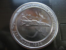 join areospace team jet us air force 1968 nola mardi gras doubloon new orleans