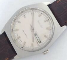 21 Jewels Swiss made Imado Men's vintage automatic watch mint condition.