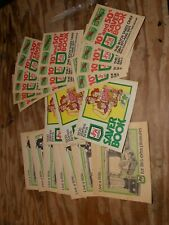 S&H Green Stamps,  23 empty books
