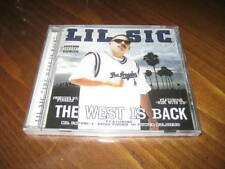 Chicano Rap CD LIL SIC - The West is Back - Mr. Capone-E Stomper Bad Azz Roscoe