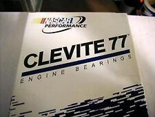 "8 CLEVITE RACING H Serie ROD BEARINGS BIG BLOCK CHEVY BBC .011"" CB743HD-11 DOWEL"
