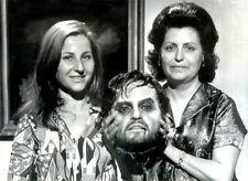 PAUL NASCHY foto original de negativo maqueta de su cabeza en LA ORGÍA DE LOS...