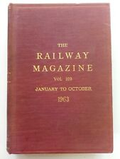 More details for the railway magazine - vol.109 january to october 1963 (bound copy) 748 pages.