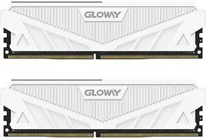 New - Gloway DDR4 Ram 16GB (2 x 8GB) 3200MHz(PC4-25600) CL16 1.35V Desktop Mem