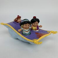 Fisher- Little People Disney Princess Aladdin Magic Carpet & X2 Figures Electric
