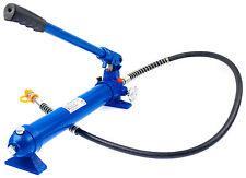 Hydraulik Hand Pumpe 10T Druck Zylinder hydraulisch Hydraulikzylinder Richtsatz