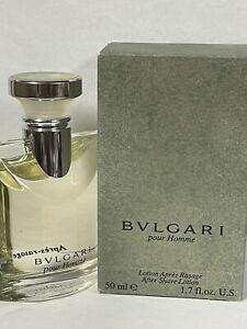 BVLGARI POUR HOMME by BVLGARI 1.7 fl oz / 50 ML After Shave lotion NIB