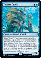 Thassa's Oracle x1 Magic the Gathering 1x Theros Beyond Death mtg card