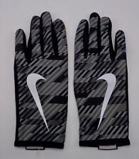 Nike Men's Lightweight Rival Run Gloves Black/Grey/Silver XL