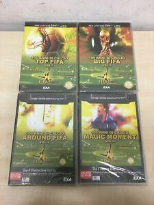 100 ANNI DI CALCIO 4 DVD PC DIVX SERIE COMPLETA FIFA SOCCER NUOVI (MI)