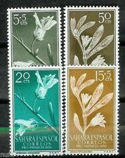 Spain SAHARA Edifil # 126/129 MNH Set. flowers / flowers