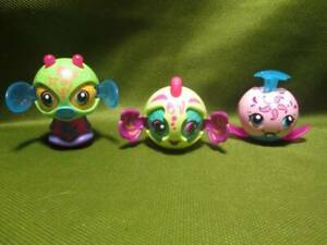 Zoobles  ~❤️~ Transforming Ball Animals Pop up Spinmaster Lot of 3
