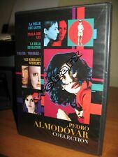 PEDRO ALMODOVAR COLLECTION 4 DVD NUOVO SIGILLATO WARNER 2012
