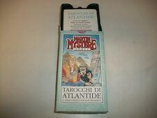 MARTIN MYSTERE GAMES TAROCCHI DI ATLANTIDE!SCARABEO CARTE ARTE!ALFREDO CASTELLI!