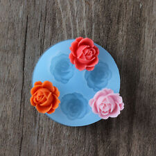 Nicole 3D Flower Resin Clay Crafts Mould Silicone Fondant Cake Decoration Molds