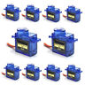 10 50Pcs 9G SG90 Mini Micro Servo For RC Robot Helicopter Airplane Car Boat US K