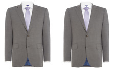 Chester Barrie Men's Grey 3 Ply Worsted Grey Suit Jacket Size 42S BNWT RRP £228