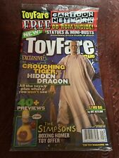 Toyfare By Wizard #49 2001 Comic Book Toy Magazine - STILL FACTORY SEALED