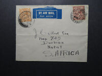 Great Britain 1931 Airmail Cover to Natal / Light Fold - Z12510