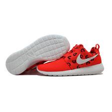 Nike Rosherun Print Bright Crimson/White-Hot Lava Leopard 599432-603 SZ 6.5