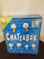 Cheatwell Games Chattabox Board Game Family Word Game