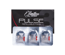 AUTHENTIC PULSE REFILLABLE PODS -3 pcs- Limitless Mod Company -PLY ROCK-