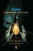Batman : Arkham Asylum, Paperback by Morrison, Grant; McKean, Dave (ILT), Lik...