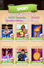 004_Coin Master Karte / 1Set Sport / Komplett ohne Goldkarten