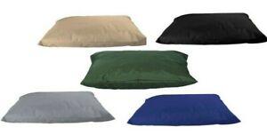 Extra Large & Large WATERPROOF Dog Bed -Pet Washable Zipped Mattress Cushion