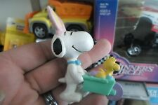 Vintage SNOOPY  UNITED FEATURE SYNDICATE Easter Bunny Ears w/Woodstock