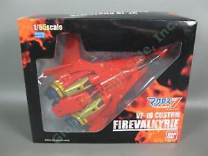 BRAND NEW 2001 Bandai Macross 7 1/65 VF-19 Custom Fire Valkyrie COMPLETE Japan