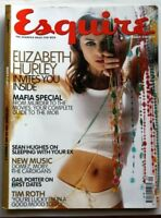 ESQUIRE September 1999 MAGAZINE Elizabeth Liz Hurley Tim Roth Sean Hughes