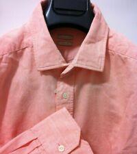 Massimo Alba Italian beautiful shirt XLsmall(Fit is L/52/42) NWT$375 Luckysale