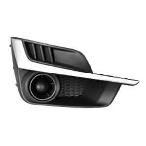 FITS FOR IMPREZA 2015 2016 FOG LAMP COVER W/O HOLE W/SILVER RIGHT PASSENGER