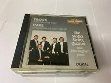 Medici String Quartet - Franck -Piano Quartet in F minor/Faure-S NIMUS CD [T1]
