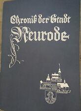 J.Wittig Chronik der Stadt Neurode 1984 Nowa Ruda Niederschlesien Schlesien
