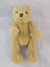 "Gund Tan Teddy Bear Plush Jointed 7.5"" Stuffed Animal toy"
