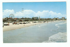 Chrome Postcard,Daytona Beach,Fla.,Florida,1955,Dexter Press