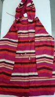 C. Wonder Reversible Solid or Stripe Water Resistant Jacket (Pink Multi, XS)