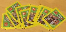 10 Stück BUNDESLIGA Aldi Offizielle Sticker Kollektion 17/18 Fußball frei wählen