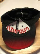 Chicago Bulls Colors Cap Hat KB Ethos Premium Signature Snapback Adjustable !