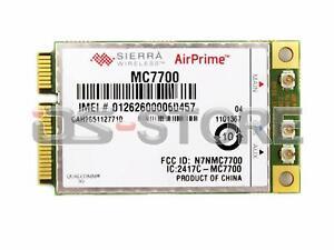 Unlocked Sierra AirPrime MC7700 100Mbps HSPA+ 4G LTE 700MHz WWAN module Card+GPS