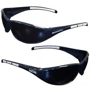 NFL Seattle Seahawks Sport 3dot Wrap Sunglasses UV 400 Protection