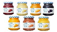"Kewpie Aohata, Sugar-free Fruits Jam, ""Marugoto Kajitsu"", 7 kinds, 250g, Japan"